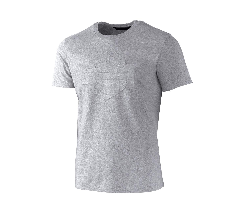 T-Shirt Men Short Sleeve H-D® Moto Embossed Logo Slim Fit