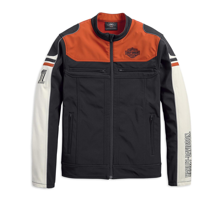 Jacket Men Soft Shell Colorblock
