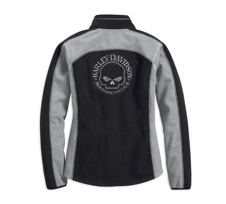 Skull Windproof Fleece Jacket Women