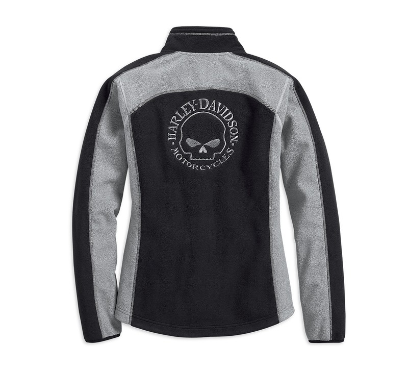 Fleece Women Jacket Windproof Skull