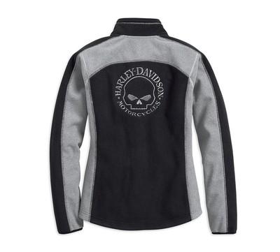 Fleece Women Jacket Windproof Skull