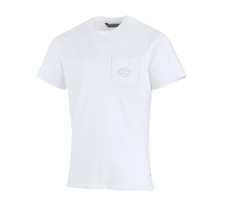 H-D® Moto High Density Print Slim Fit Pocket T-Shirt Men