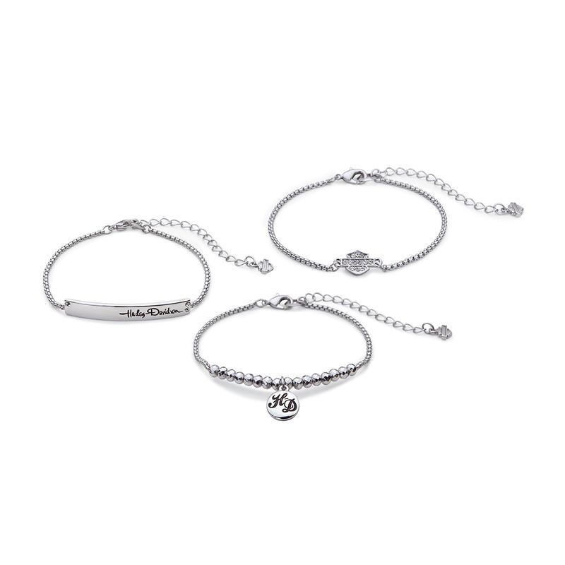 Rhinestone Stackable Bracelets Women