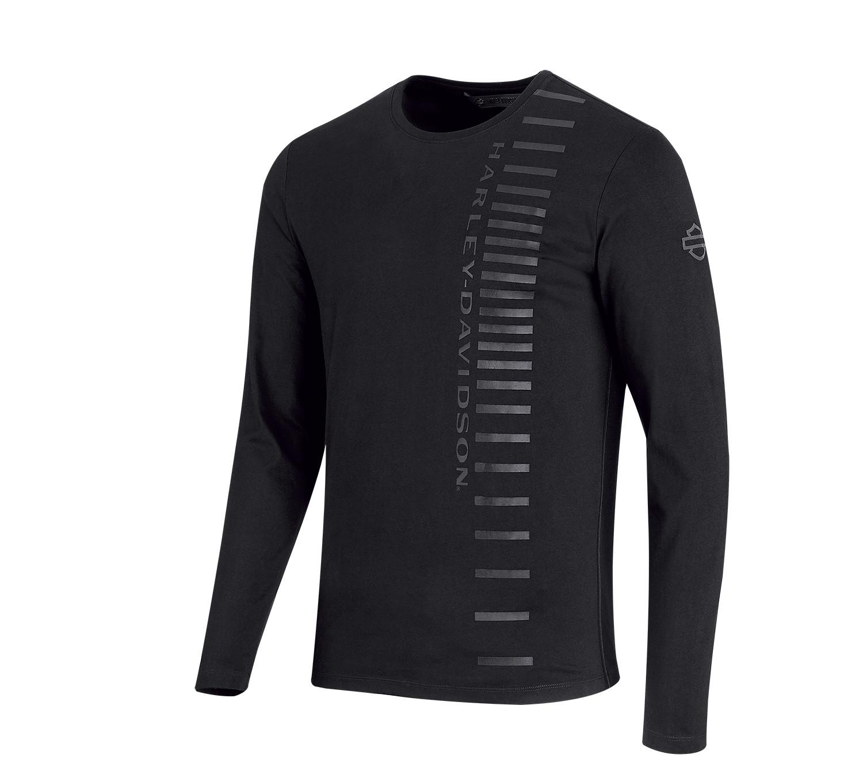 H-D® Moto High Density Print Long Sleeve Slim Fit T-Shirt Men
