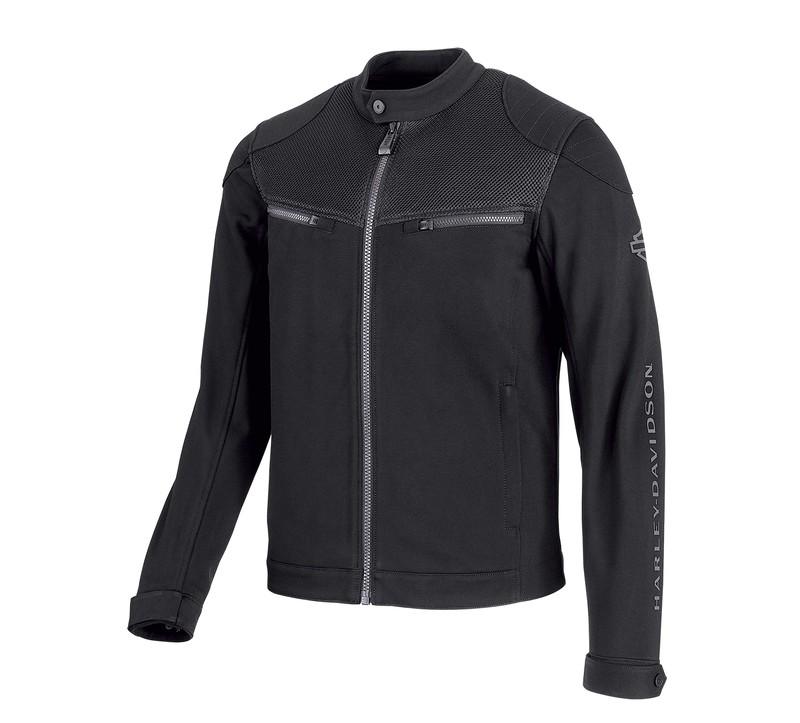 Jacket Men H-D® Moto Textile 3D Mesh Accent Casual Slim Fit