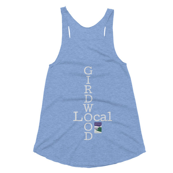 "Women's ""Girdwood Local"" Racerback Tank"