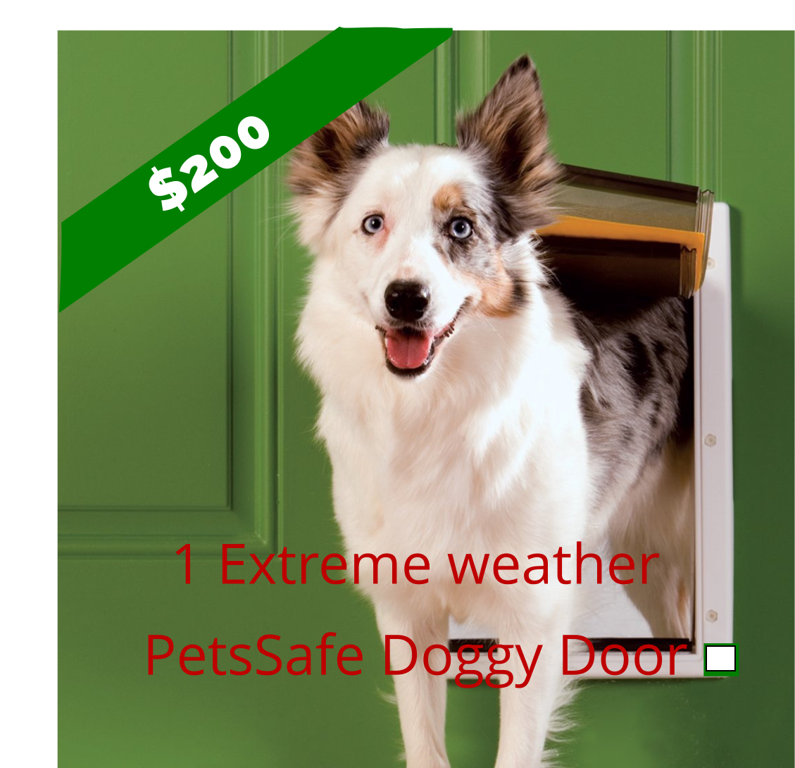 Extreme Weather Doggy Doors