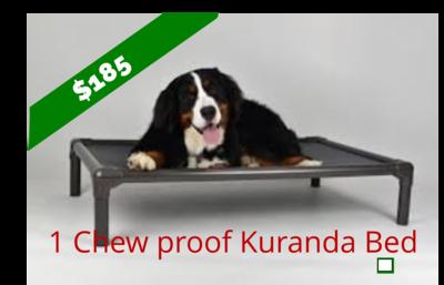 Chew Resistant Kuranda Bed  (Small PVC Frame)