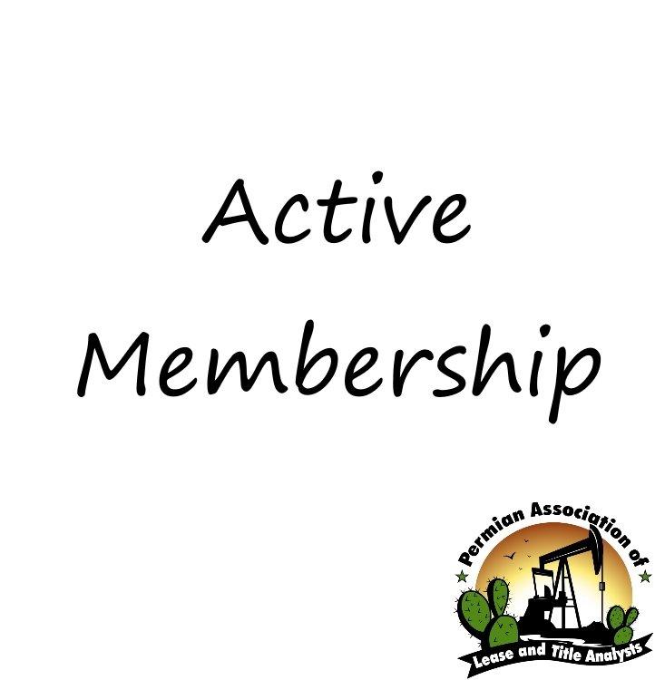 Active Membership
