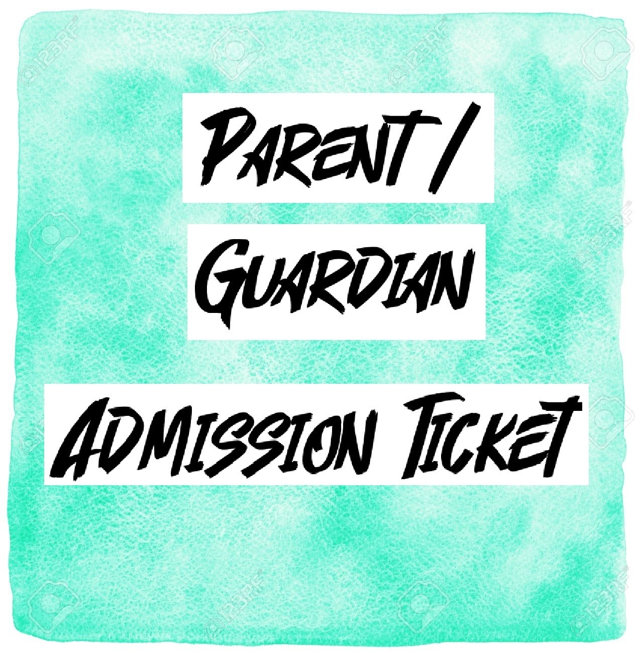 Slime-A-Con Parent/Guardian Ticket