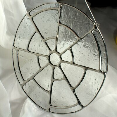 Imperial Window - Stained Glass Suncatcher