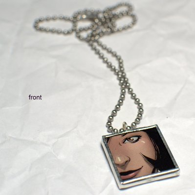 Comic Book Pendant - Brown Eyed Girl