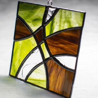 Spring Thaw - Stained Glass Suncatcher