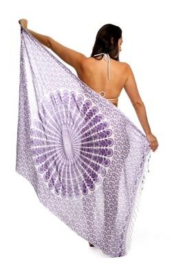 Mandala Sarong (Purple)