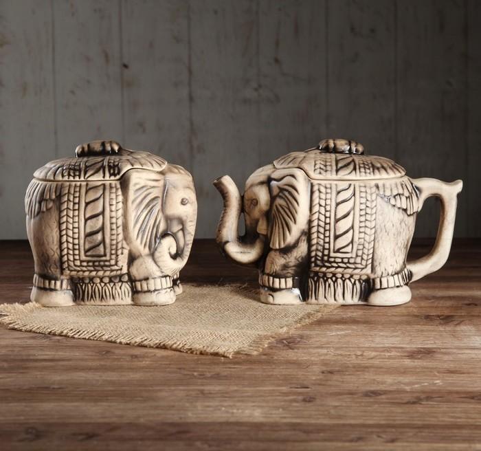 """Чайная пара """"Слоны"""", 800 мл"""