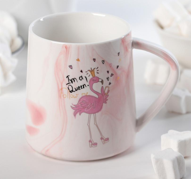 """Кружка """"Королевский фламинго"""", 350 мл"""