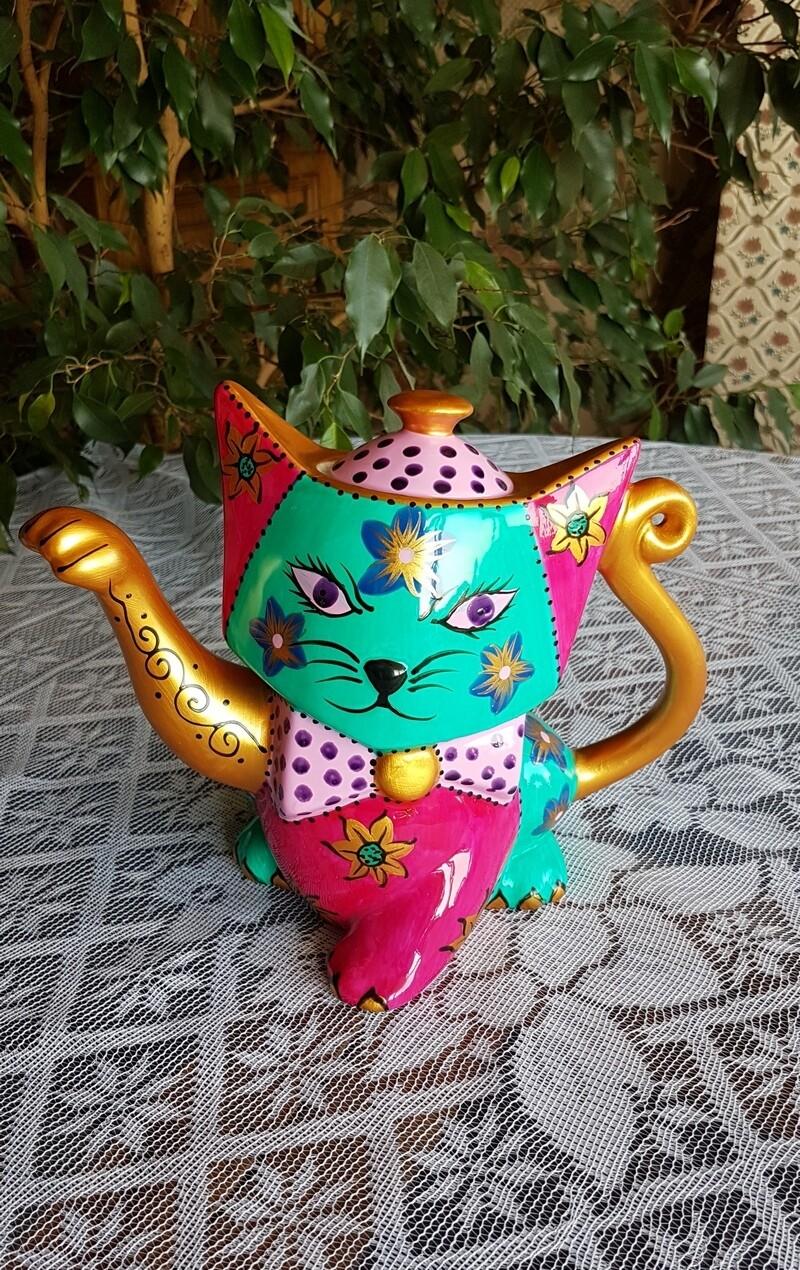 "Чайник заварочный ""Кошка"", 850 мл., Lefard"
