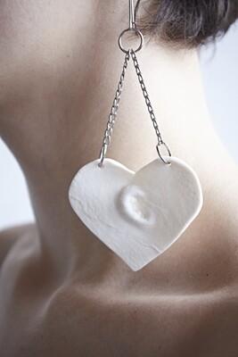 Earring // navel // heart // enhs