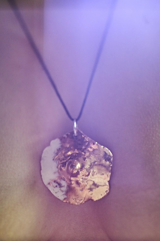 Pendant // nipple // gold // pnwg