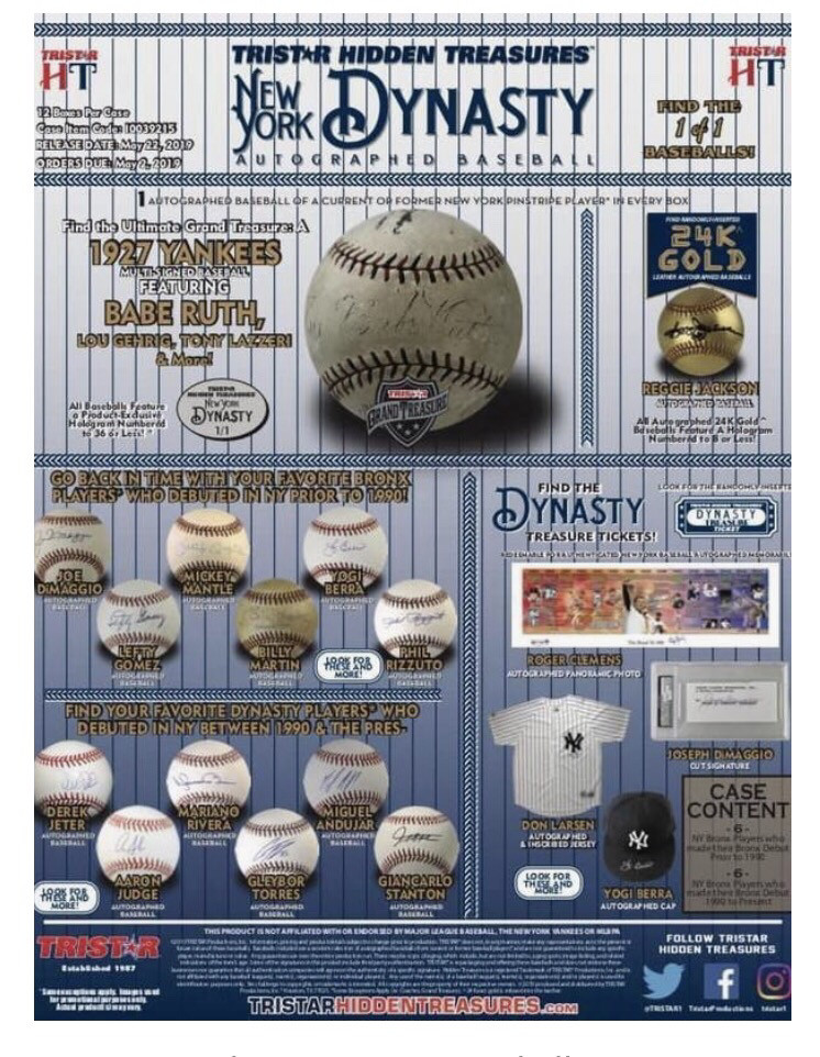 Yankees Mystery Baseball Razz 4