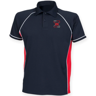 Welsh Rowing Piped Performance Polo