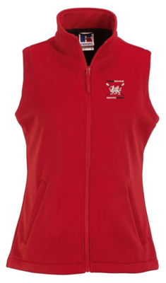 Welsh Rowing Women's Smart softshell gilet