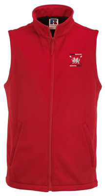 Welsh Rowing Men's Softshell Gilet