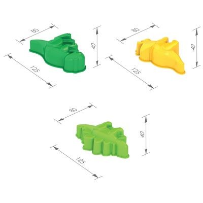 Формочки для песка Динозаврики Нордпласт 169 Нордпласт