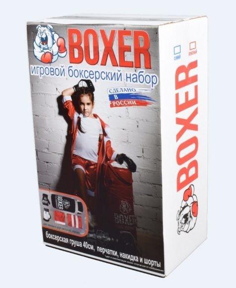 Боксерский набор №2 в подарочной упаковке Лидер 18526