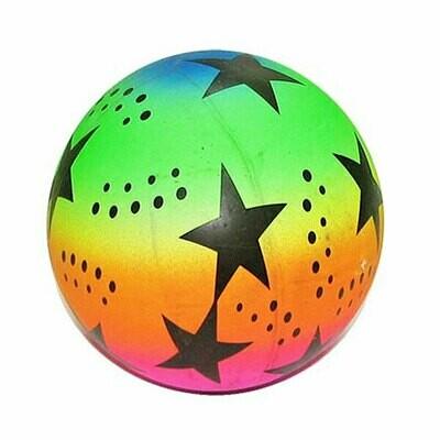 Мяч пластизолевый надувной 22 см. 25495-2