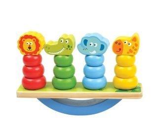 Развивающая игрушка Игра-баланс Животные дерево Mapacha 76724