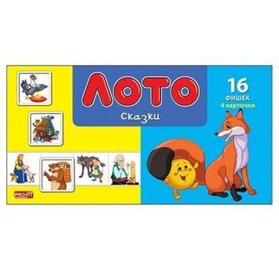 Игра ЛОТО. СКАЗКИ Рыжий кот ИН-1987