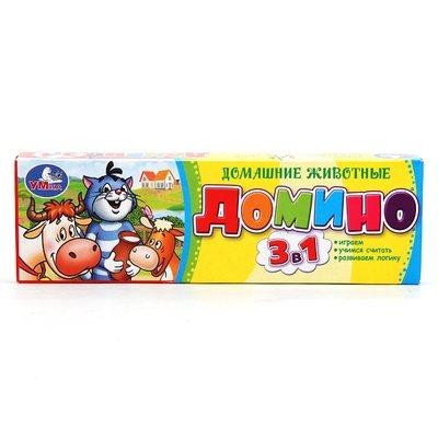 Домино Простоквашино Домашние животные Умка 069455