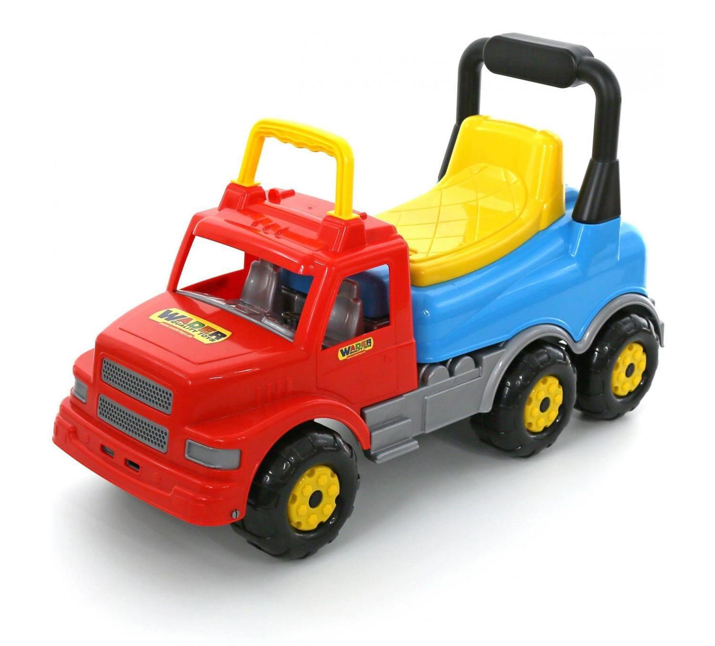 Каталка-автомобиль Буран №2 (красно-голубая) Полесье-Wader 43801