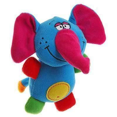Мягкая игрушка-погремушка Слон BABY YOU BB1285