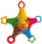 Мягкая игрушка-погремушка Кот BABY YOU BB1294