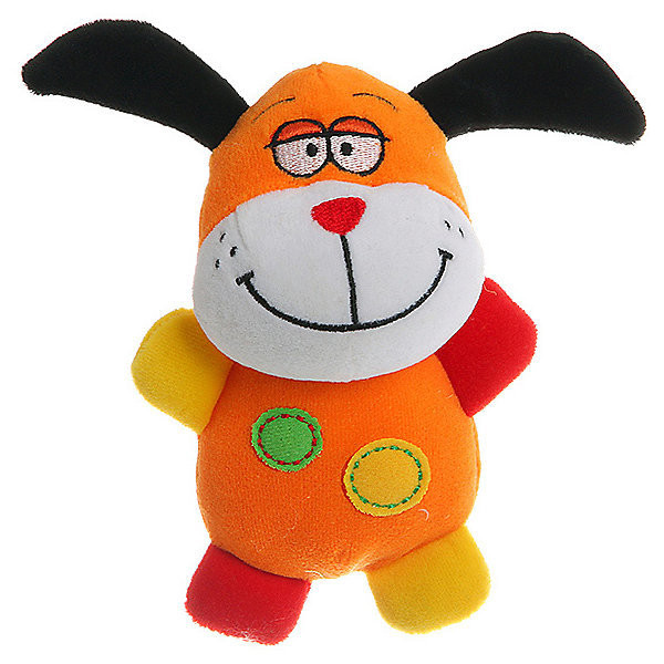 Мягкая игрушка-погремушка Собачка BABY YOU BB1280