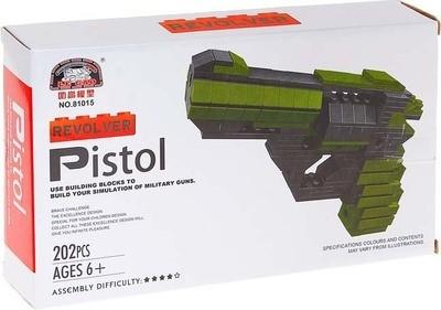 Конструктор Пистолет 202 дет. Le Gao 81015