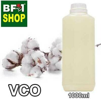 VCO - CottonSeed Virgin Carrier Oil - 1000ml