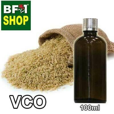 VCO - Rice Bran Virgin Carrier Oil - 100ml