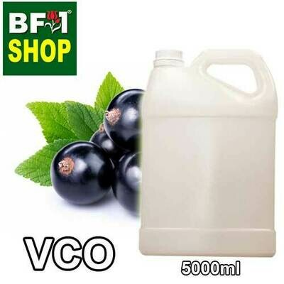 VCO - Blackcurrant Virgin Carrier Oil - 5000ml
