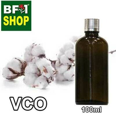 VCO - CottonSeed Virgin Carrier Oil - 100ml