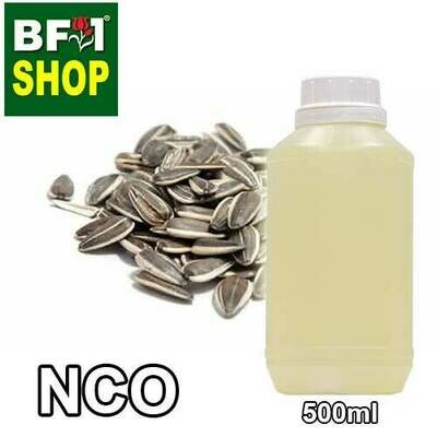 NCO - Sunflower Refined Natural Carrier Oil - 500ml