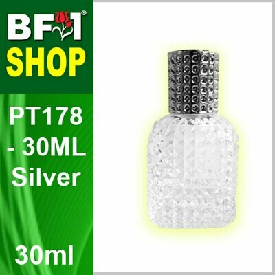 30ml-Perfume Bottle-PT178-30ML-Silver
