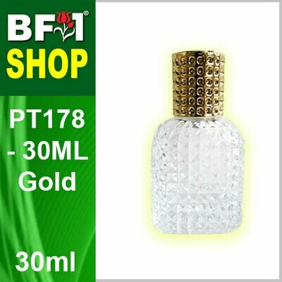 30ml-Perfume Bottle PT178-30ML-Gold
