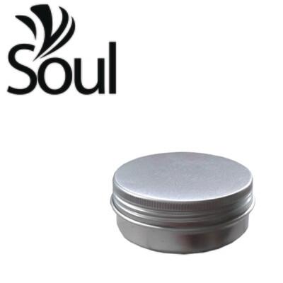 70g - Aluminium Jar Silver With Strike Cap