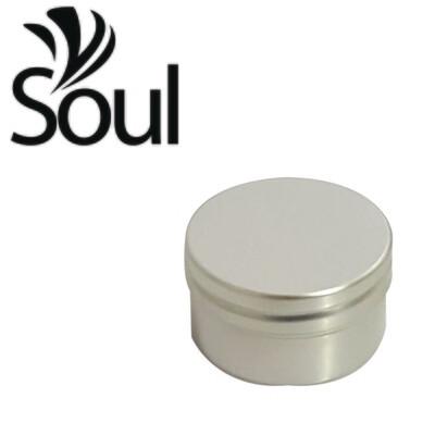 50g - Aluminium Jar Silver With Normal Cap