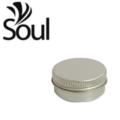10g - Aluminium Jar Silver With Strike Cap