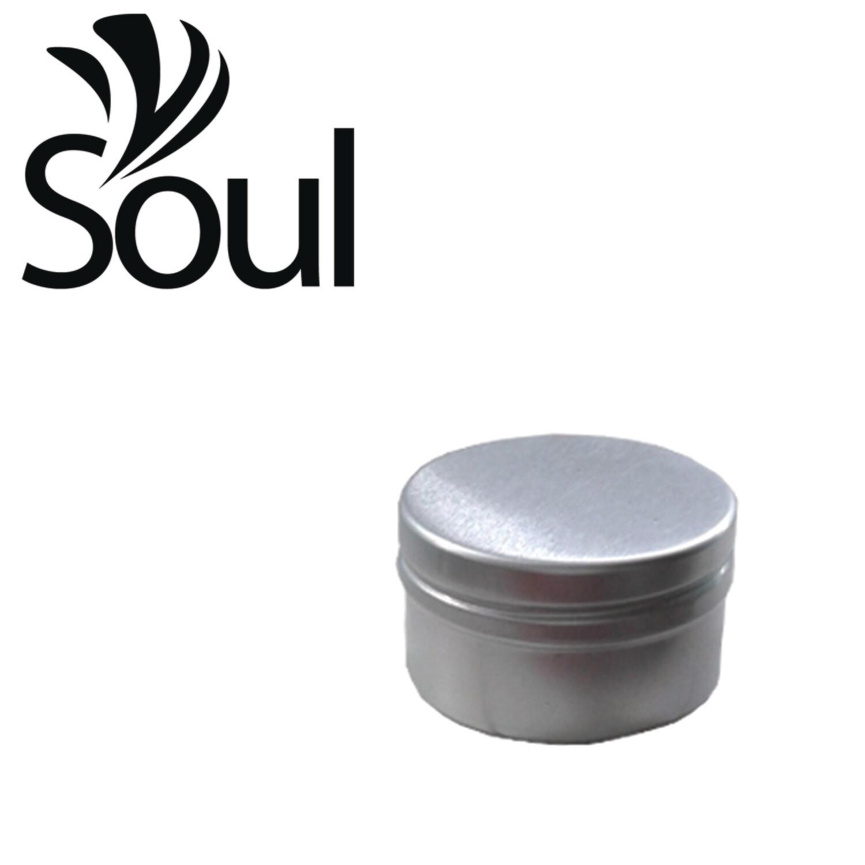 30g - Aluminium Jar Silver With Normal Cap