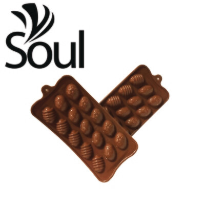 SM - 15x5g Soap Mould Chocolate Shape
